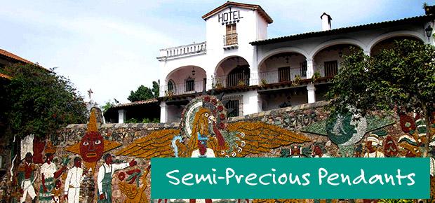 Semi-Precious Pendants banner