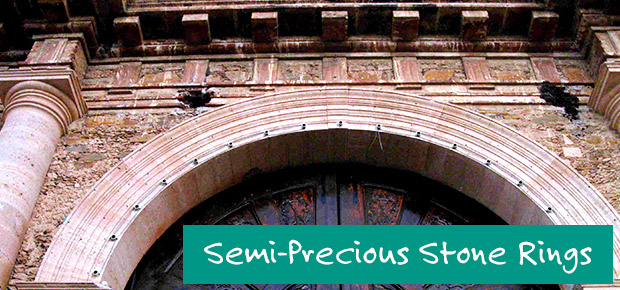 Semi-Precious Stone Rings banner