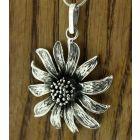 Sunflower Silver Pendant (228)