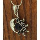 sun and moon pendant