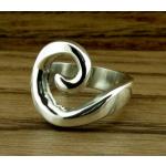 Spiral Wrap Silver Ring