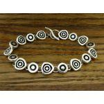 Ondas Silver Bracelet