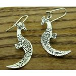 Phoenix Silver Earrings