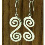 Inversa Silver Earrings (530)