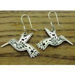 Colibri Silver Earrings