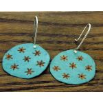 Patina Starry Night Silver Earrings