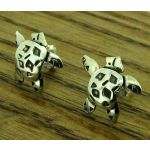 Silver Turtle Studs