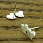 Double Sweetheart Stud Earrings (70)