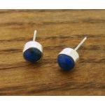 Lapis Lazuli 6mm Stud Earrings