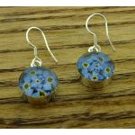 Forget-me-not Real Flower Earrings