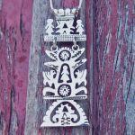 Unusual Tree of Life Silver Pendant