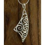 Spiral Sail Silver Pendant (151)