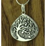 Autumn Tree Silver Pendant (194)