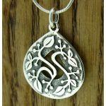Creeping Vine Silver Pendant (271)