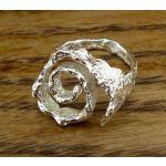 Spiral Silver Ring