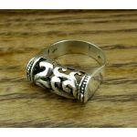 Tubo Mayan Silver Ring