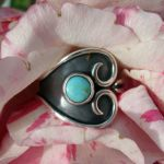 Turquoise Wind Hanmdmade Silver Ring