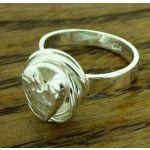 Handmade Silver Heart Ring