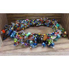 Multi-colour Beaded Bracelet