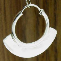 Sterling Silver Hoop