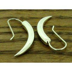 Tusk Silver Earrings