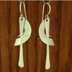 Cono Chico silver earrings