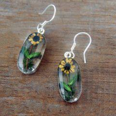 Mexican Handmade Flower Earrings