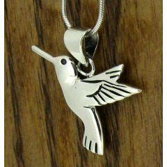 Hummingbird Silver Pendant