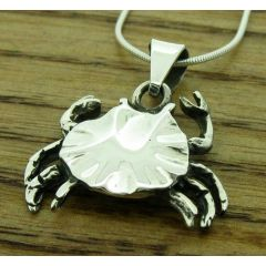 Crab Silver Pendant