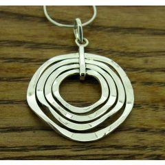 Unusual Silver Pendant