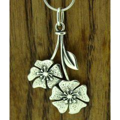 Buttercup Silver Pendant
