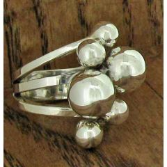 Silver Bubble Ring