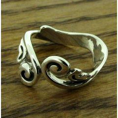 Baroque Silver Ring (223)