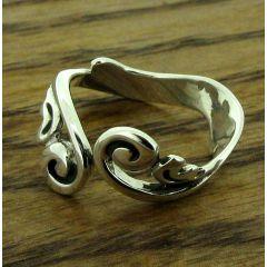 Baroque Silver Ring (223)