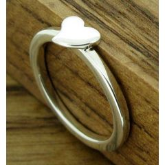 Sweetheart Silver Ring