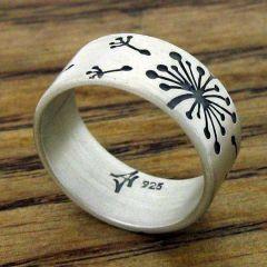 Make a Wish Silver Ring