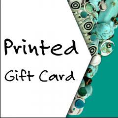 Printed Gift Card