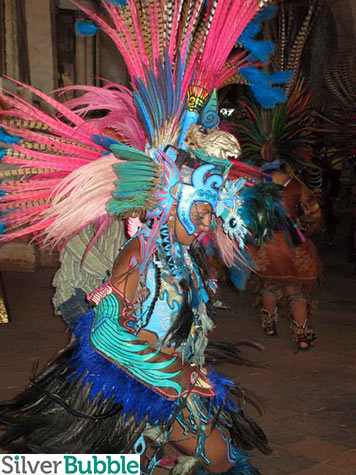 Aztec Tree of Life Carnival Dancer