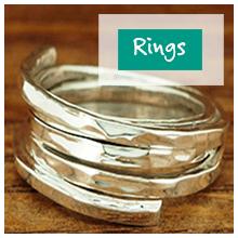Rings - Silver Bubble Jewellery